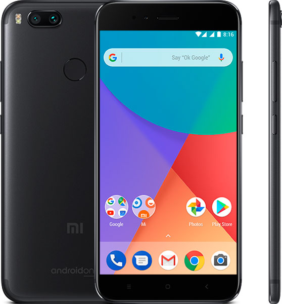 Xiaomi Mi A1 64Гб Черный